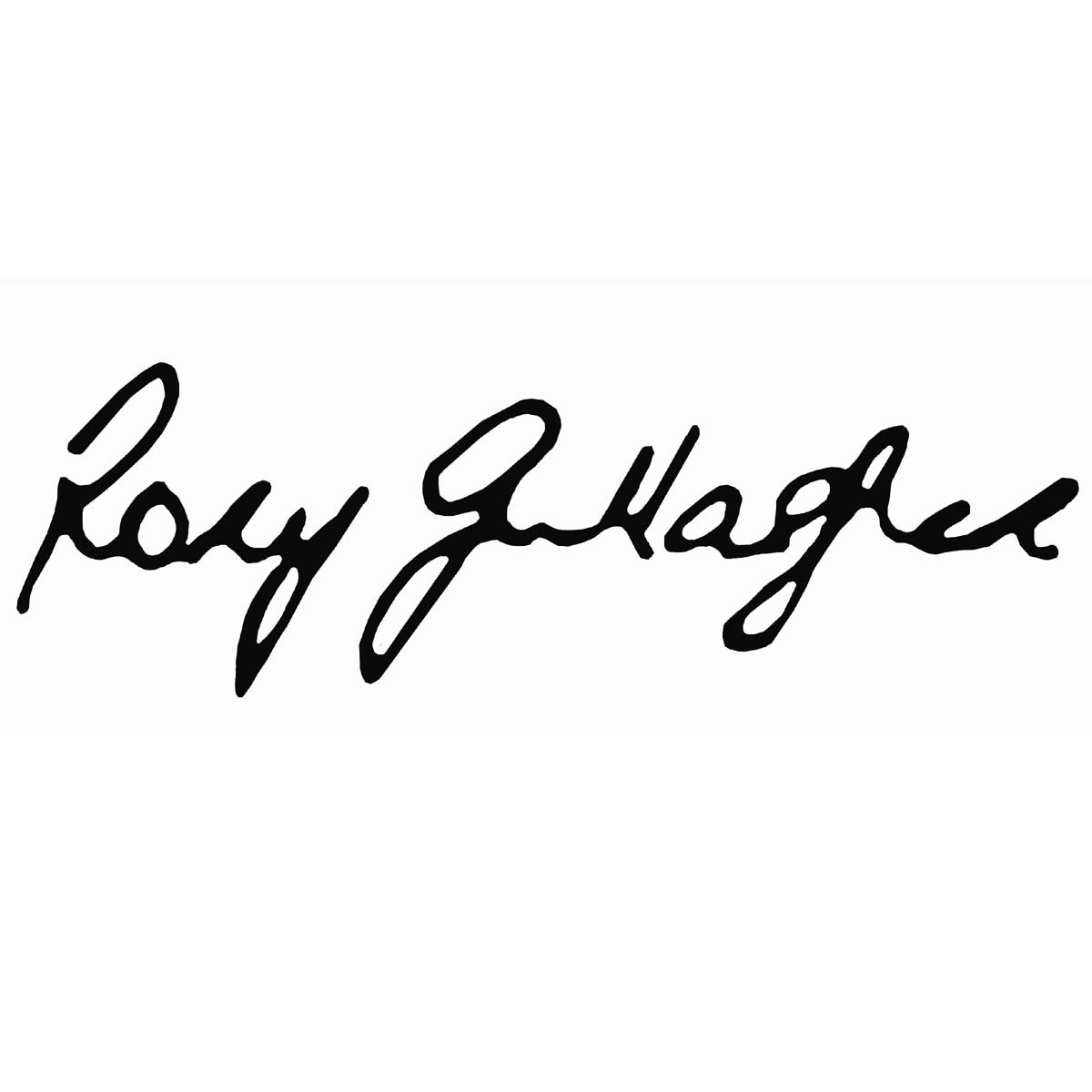 Rory Gallagher Signature Headstock Waterslide Decal