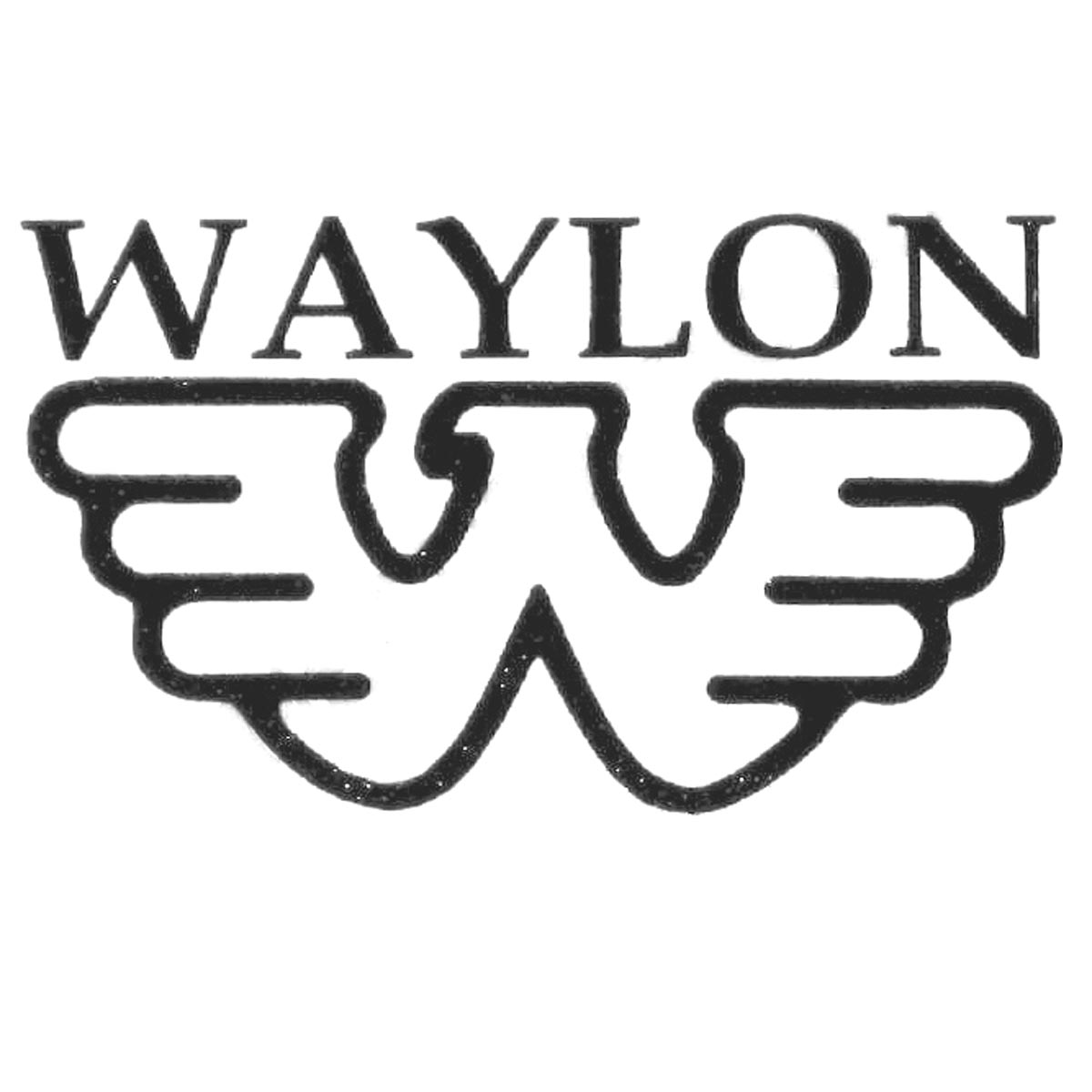 Waylon Jennings Headstock Waterslide Decal