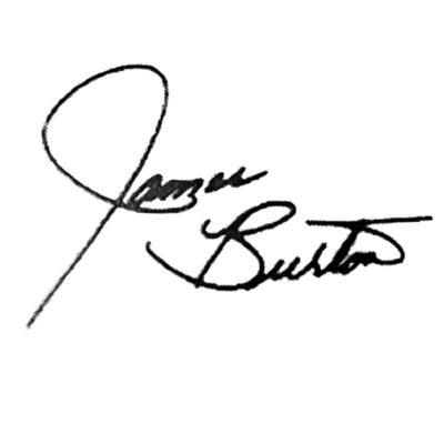 james burton signature decal
