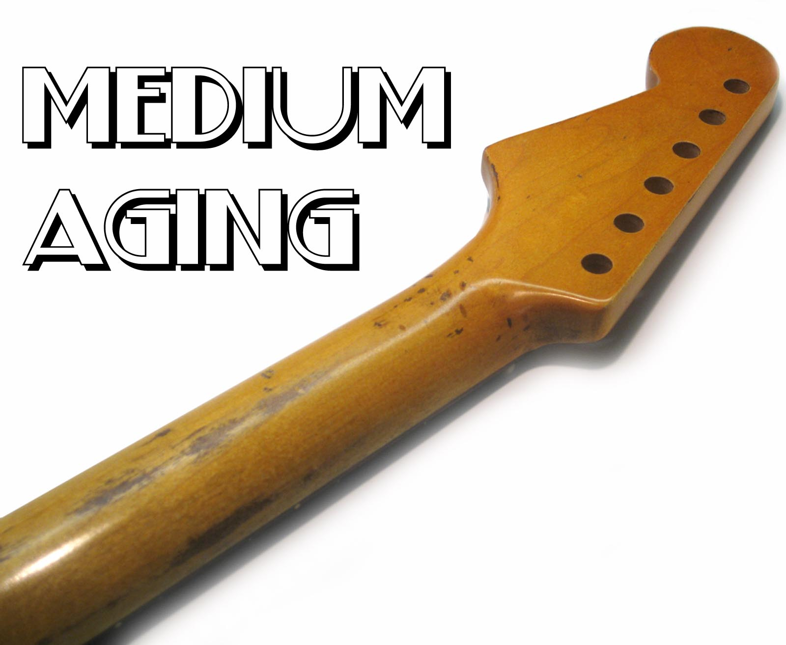 CUSTOM SHOP Aged Stratocaster Replacement Neck