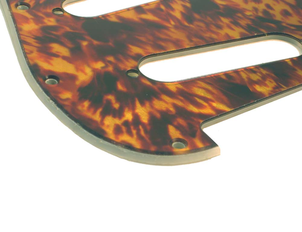 Stratocaster  Pickguard - Real Look Vintage Tortoise - 2-ply