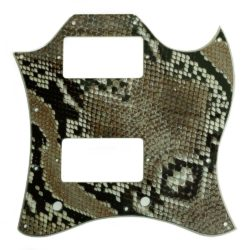 Gibson SG Full Face snakeskin pickguard