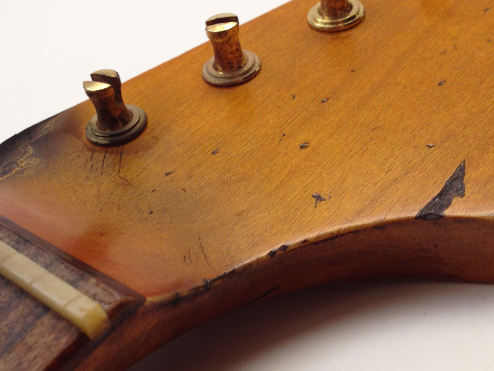 Aged Neck - SRV #1 First Wife Replica Stratocaster Replacement