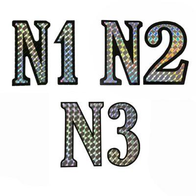 Nuno bettencourt N1 N2 N3 decal replica stickers