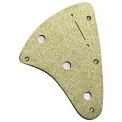 Jerry Garcia Alligator Stratocaster brass pickguard