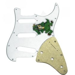 Jerry Garcia Alligator Stratocaster pickguard