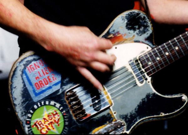 Joe Strummer / Clash Replica Ignore Alien Orders / Trash Decals Stickers