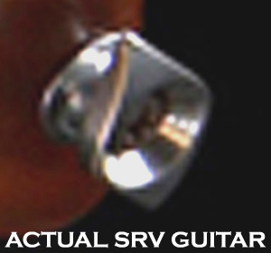 (1) SRV Lenny style Diamond Strap Button - RARE
