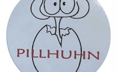 Vintage Garcia Pillhuhn Sticker – ALLIGATOR Replica Strat Decal