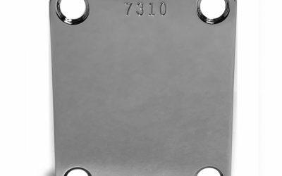 Garcia Alligator Strat Neckplate – Replica Serial Numbered plate