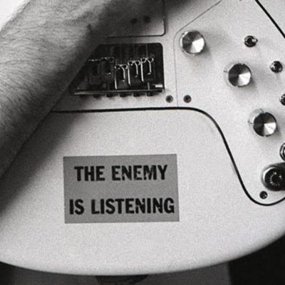 The Enemy is Listening decal