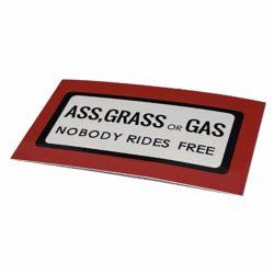Garcia SB-500 ASS GRASS GAS The Enemy is Listening