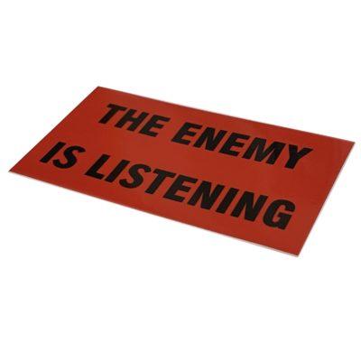 Garcia SB-500 The Enemy is Listening