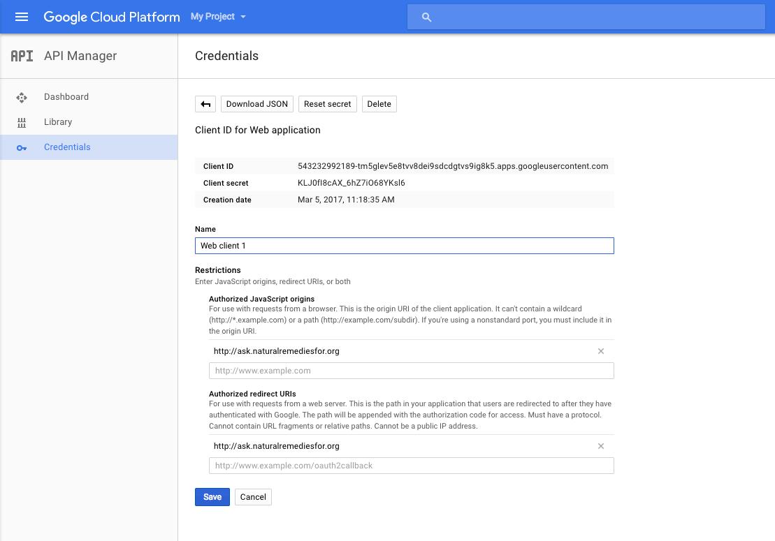 Solving Google Login redirect_uri_mismatch Issue - redirect uri