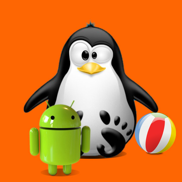 Android ADT Bundle Ubuntu - Gnome Penguin Ball Android