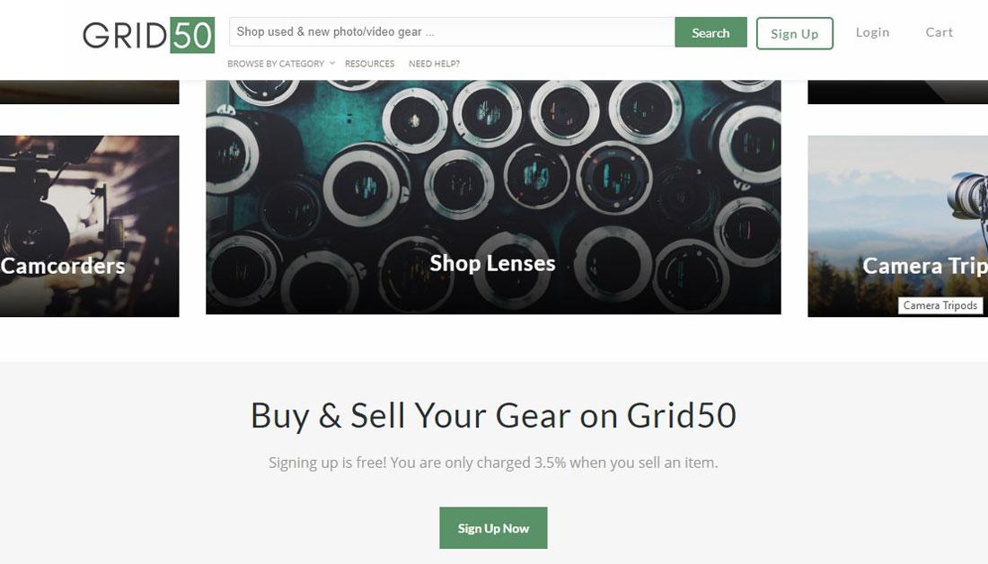 grid50 screenshot