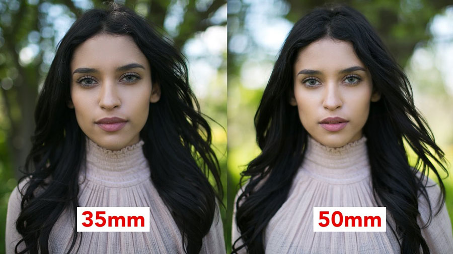 35mm vs 50mm