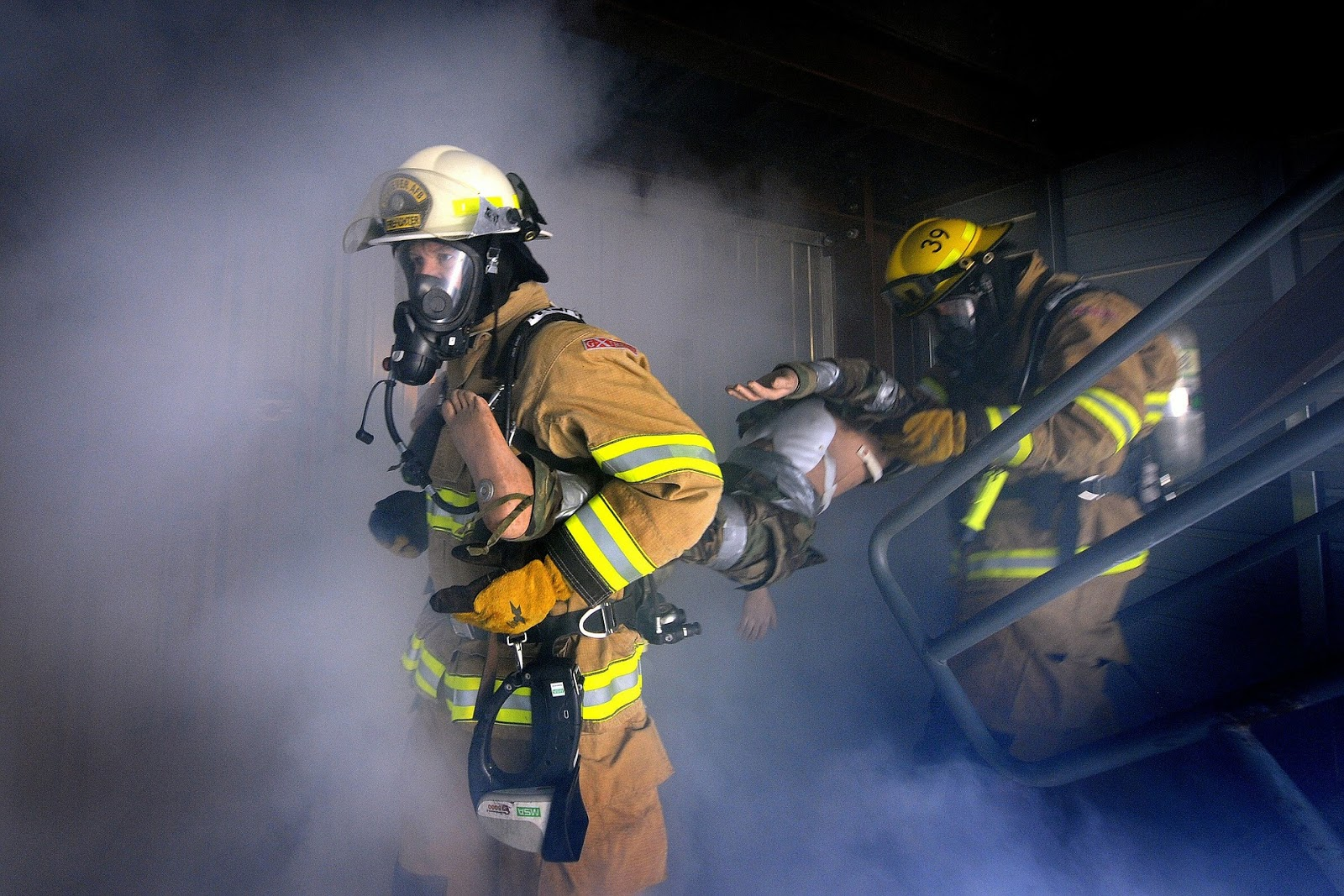 Firefighter by David Mark