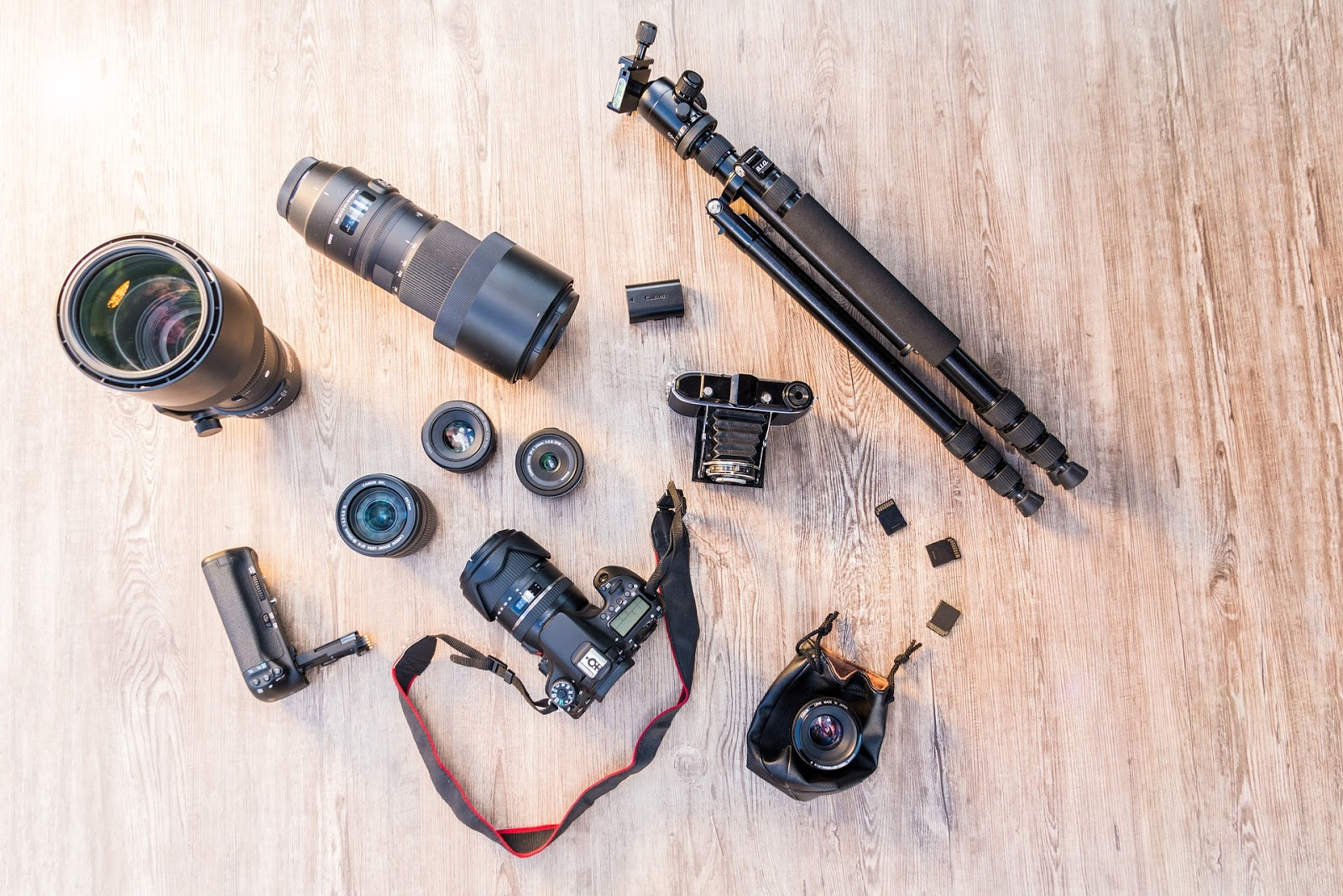 camera lenses for commercial photography by TeeImages