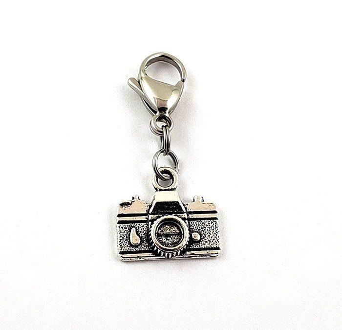 Camera Zipper Pull