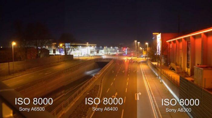 Sony a6500 vs. a6400 ISO