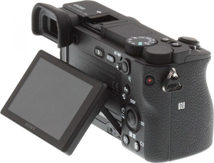 Sony a6500 vs a6400 - Screen Comparison 2