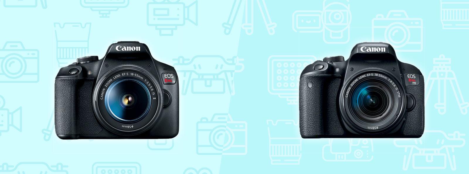 Canon T7 vs. Canon T7i: The Complete Comparison | Grid50