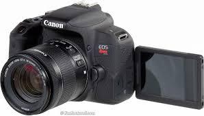 Canon T7i Screen