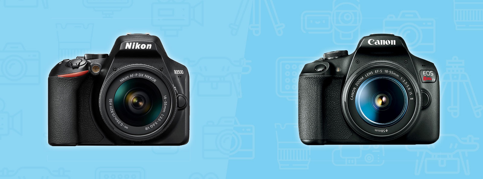 Nikon D3500 vs. Canon T7: The Complete Comparison | Grid50