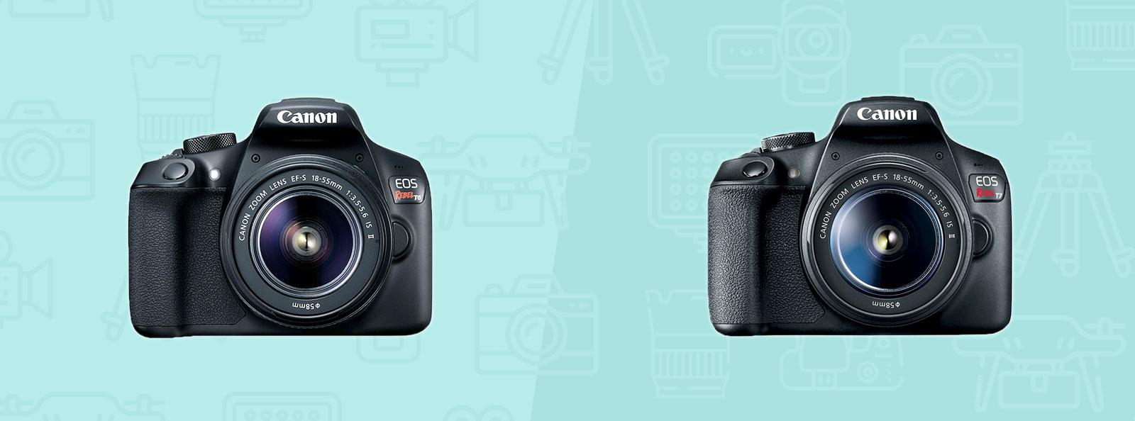Canon T6 vs T7