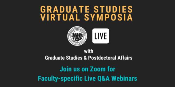 Graduate Studies Virtual Symposia