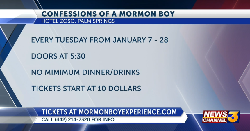 confessions of a mormon boy