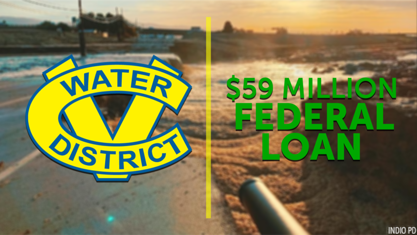 CVWD receives $59 million loan for stormwater channel improvements - KESQ