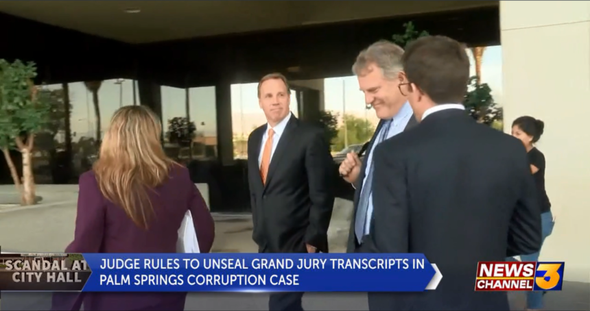 Grand jury transcripts to be released in Palm Springs corruption trial, defense calls case 'weak' - KESQ