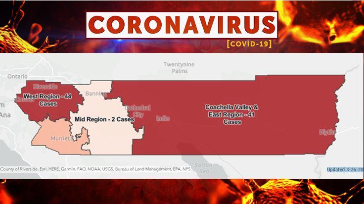 Coronavirus 032620 Map