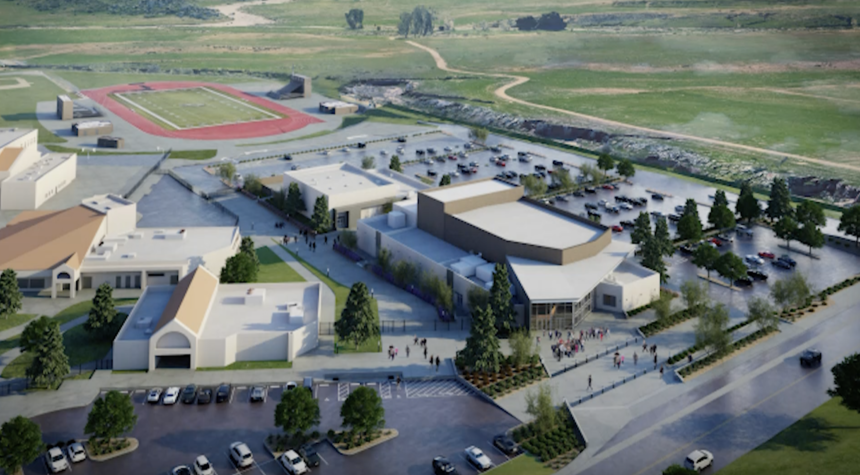 Banning High School construction project