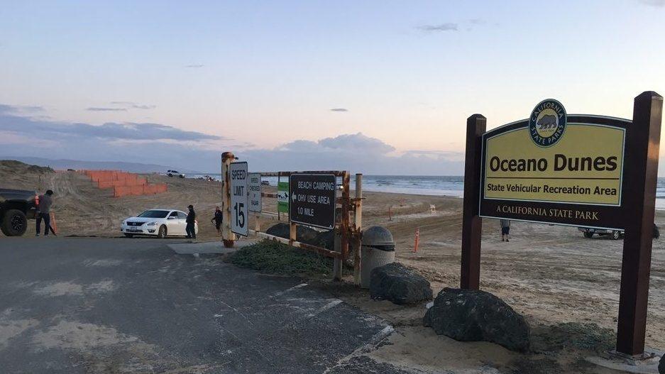 Oceano Dunes recreation area