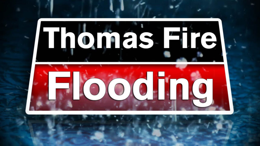 thomas fire floods flooding