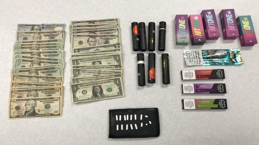 Juvenile suspect arrested for narcotic sales in Oxnard.