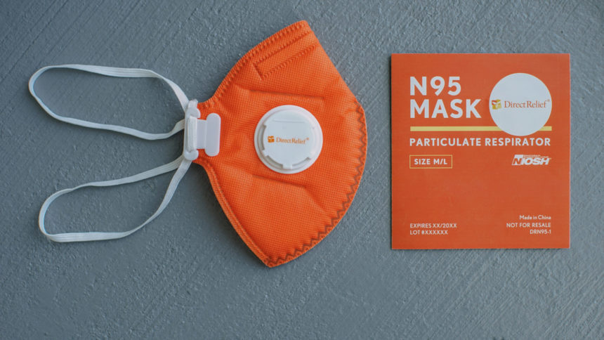 Direct Relief N-95 Face masks
