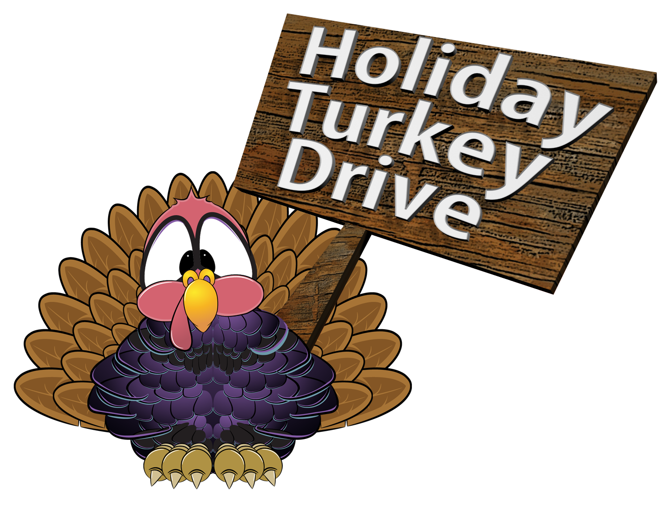 HOLIDAY TURKEY DRIVE logo