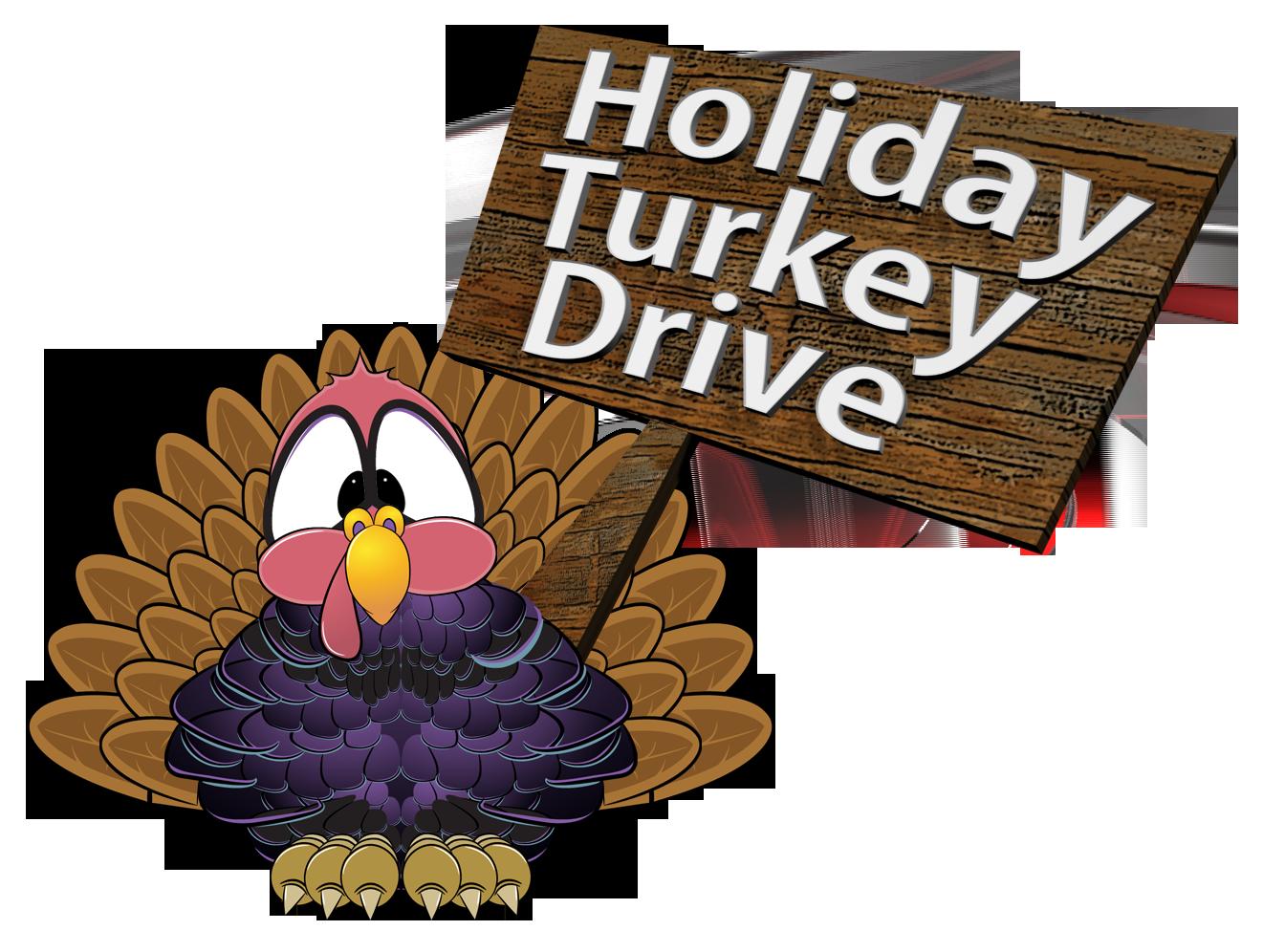 HOLIDAY TURKEY DRIVE logo