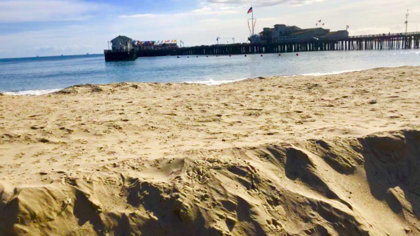 Sand Berm Santa Barbara