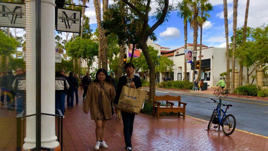 Shopping season begins