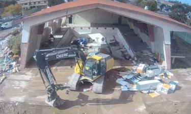 LOMPOC POOL DEMOLITION