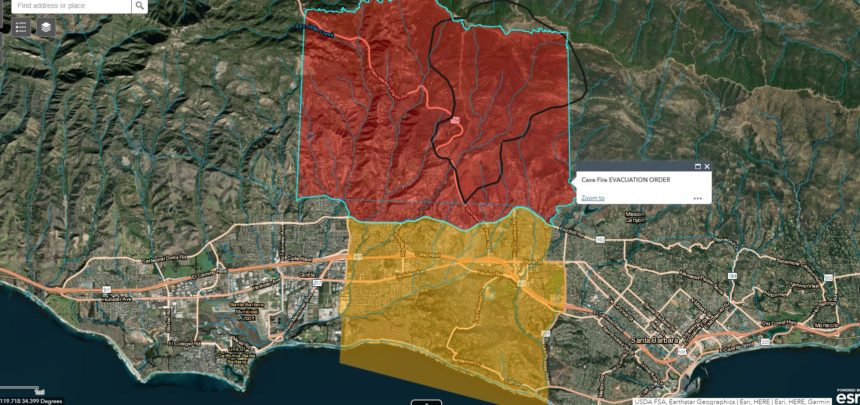 new evac map