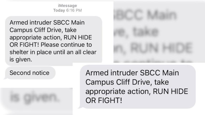SBCC text alerts