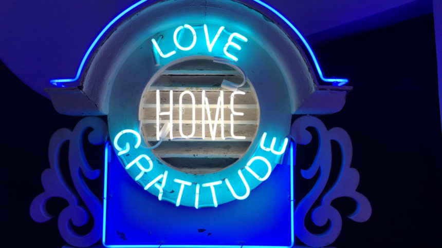 Vintage meets neon lights at GraySpace in the Funk Zone