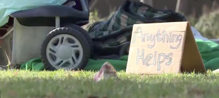 Homeless site