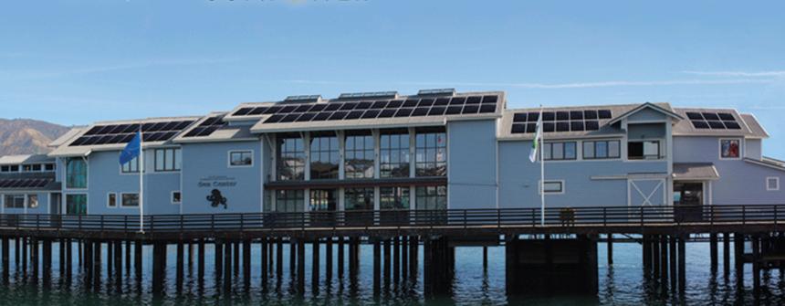 Sea Center Solar panels